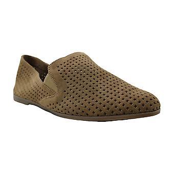 محظوظ العلامة التجارية النساء Carathy الجلود منخفضة أعلى زلة على أحذية رياضية أزياء