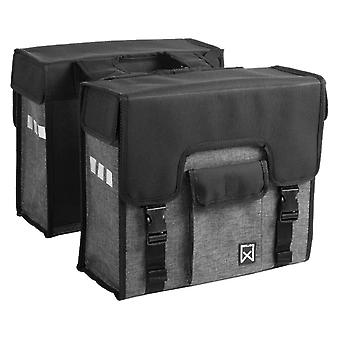 Willex Bicycle Bags 38 L Black and Grey 10613