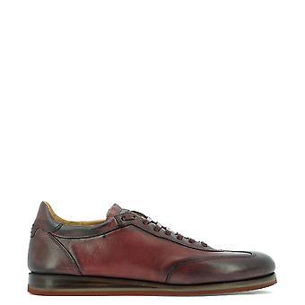 Fabi Fu9152 Men's Burgundy Leather Lace-up Shoes