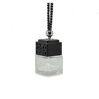 Designer i bil luft freshner diffuser olie duft inspireret af (Gucci Rush for hende) Parfume. Sort låg, klar flaske 8ml