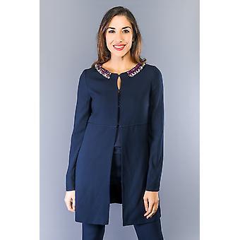 Jaquetas e casacos azuis Dk