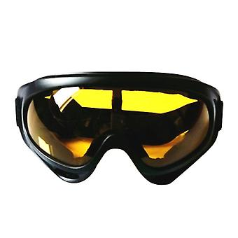 Winter, Windproof, Anti-fog With Adjustable Elastic Goggles For Outdoor