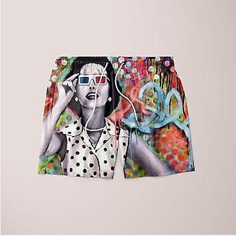 Distorted perception shorts