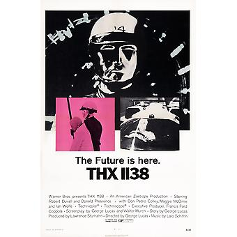 Thx 1138 Us פוסטר אמנות 1971 סרט פוסטר הדפס מאסטר