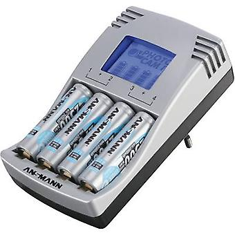 Ansmann Photocam IV Charger for cylindrical cells incl. rechargeables NiCd, NiMH AAA , AA