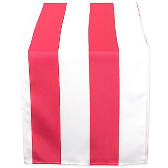 Dii Coral Cabana Stripe Outdoor Table Runner