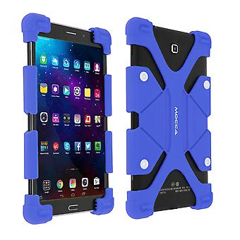 """Universal shock absorbing case for 9.7""""– 12"""" Tablets, with kickstand – Blue"""