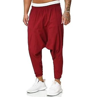 Men's Streetwear Cross-pants Baggy Hiphop Joggers Trousers