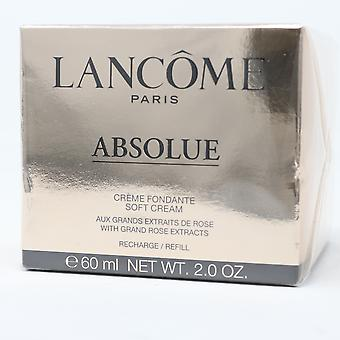 Lancome Absolue Soft Cream Refill With Grand Rose Extracts 2oz/60ml New With Box