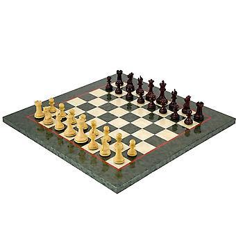 Sandringham Tres corone shakki asetettu