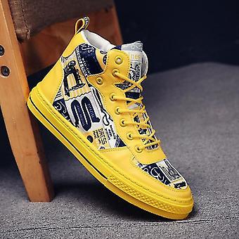 طالب غرافيتي قماش الأحذية، في الهواء الطلق أحذية رياضية غير زلة الرجال & apos;ق أحذية المشي