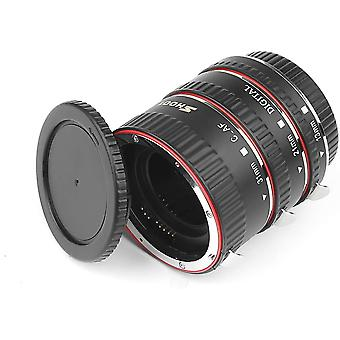 AF Auto Focus Macro Extension Tube Set Extreme Close-Ups for Canon EOS EF Lens
