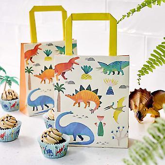 Dinosaur Party Bags - Treat - Sweet x 8