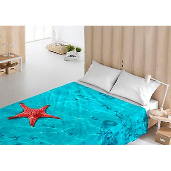 Top sheet Costura Ocean Vices/UK double bed (210 x 270 cm)