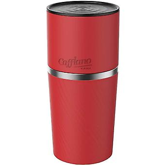 Cafflano Klassic, All-in-One Coffeemaker, Red