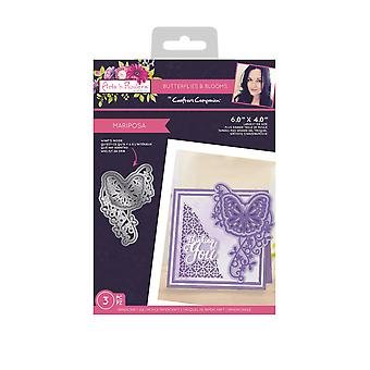 Crafter's Companion Butterflies and Blooms Metal Die Mariposa