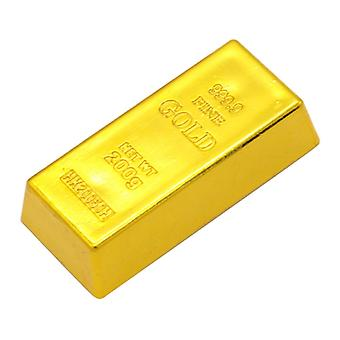 Bullion Creative Fake Artificial Gold Bar Prop Plastic Golden Simulation Table