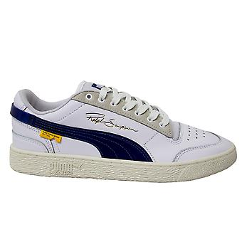 Puma x Ralph Sampson Lo Randomevent Leather Low Lace Up Mens Trainers 371394 01