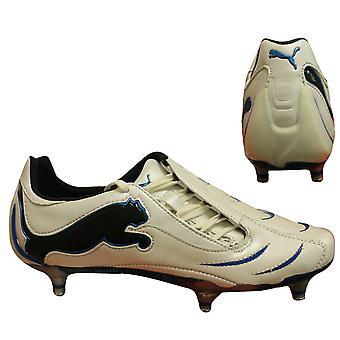 بوما باوركات 1.10 SG رجال أحذية كرة القدم الجلود البيضاء 101897 09 B72A