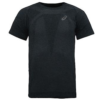 Asics Running Seamless Top Short Sleeve Grey Mens T-Shirt 134602 0904