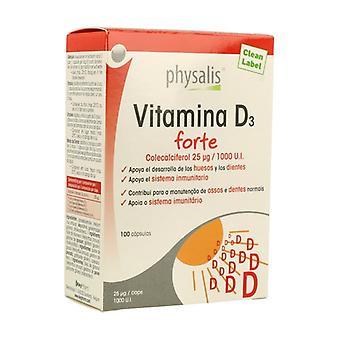 Vitamin D3 Forte 100 capsules