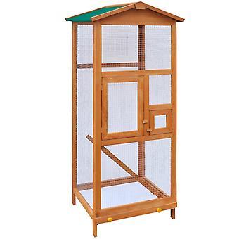 خشب قفص الطيور 65 × 63 × 165 سم