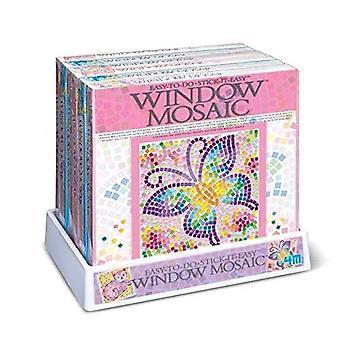 4M nature window mosaics (3 assorted)