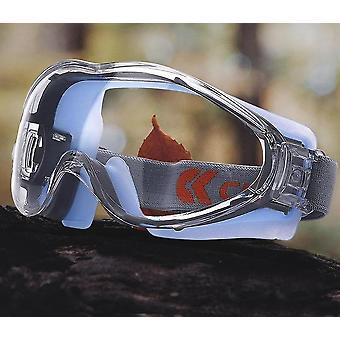 Transparent Safety Glasses
