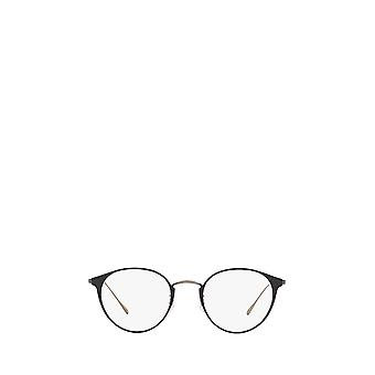 Oliver Peoples OV1260TD matta musta / pewter unisex silmälasit