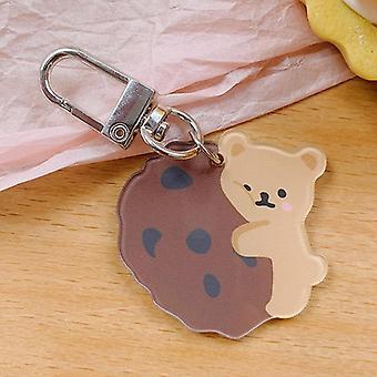 Cartoon Bear Hanging Keychain