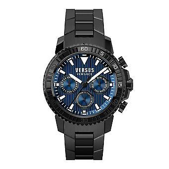 Versus by Versace Herren Uhr Armbanduhr Chrono Aberdeen S30090017 Edelstahl