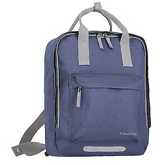 travelite Basics Griff-Rucksack 40 cm, Blau