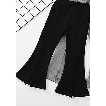 Kids Boot Cut Casual Trousers Pant
