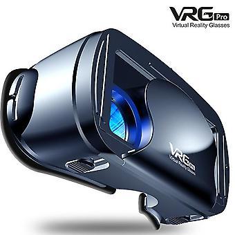 5~7Inch vrg pro 3d vr szemüveg virtuális valóság teljes képernyős vizuális nagylátószögű VR szemüveg doboz 5-7 hüvelykes okostelefon szemüveg