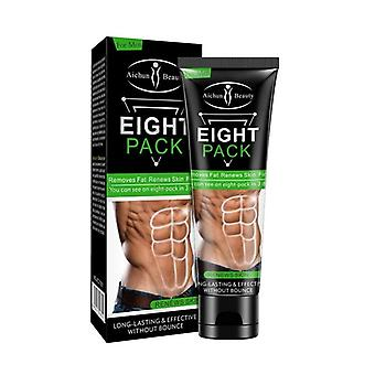 Men Stronger Muscle Cream Waist Torso Smooth Lines Press Fitness Belly Fat
