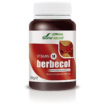 Soria Natural Berbecol 30 Tablets