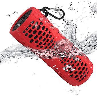 HanFei Bluetooth Lautsprecher Wasserdicht, Outdoor Tragbare IP66 Dusche Bluetooth Box, 12W Bass
