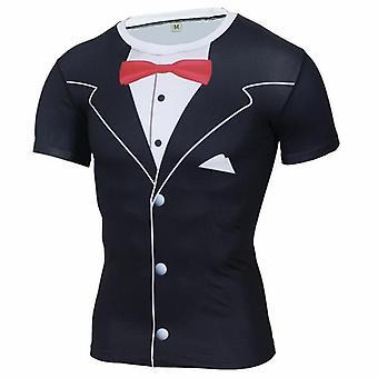 Nouveau t-shirt Quick Dry Tank Man's, Black Panther Running Shirt