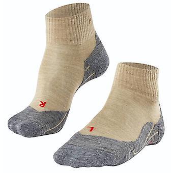 Falke Trekking 5 korte sokker - Natur Beige Melange