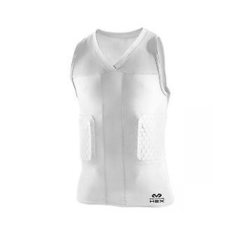 McDavid 7962 HexPad V-neck Sleeveless Basketball Protection Shirt (Dunk II)