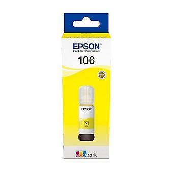 Inkt voor cartridgevullingen Epson C13t00r 70 Ml