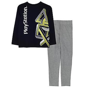 Playstation Boys ikoner Pyjamas Set