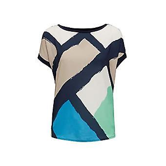 ESPRIT Collection 030EO1K315 T-Shirt, Multicolored (400/Navy), XS Women