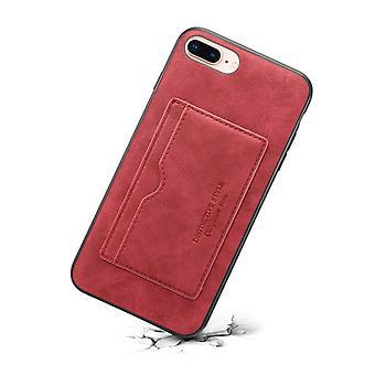 Portefeuille étui en cuir fente pour carte pour huawei mate20pro rouge pc3667