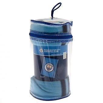 Manta de vellón del Manchester City FC