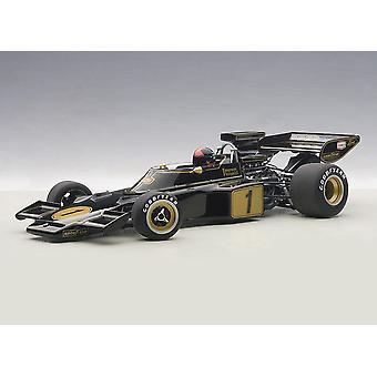 Lotus 72 E with Driver Figure (Emerson Fittipaldi - 1973) Composite Model Car