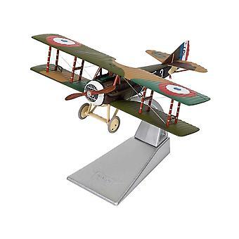 SPAD X111 (White 3  Pierre Marinovitch 1918) Diecast Model Airplane