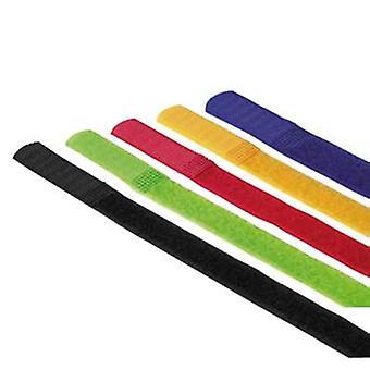 Legături cablu Hama Hook and Loop, 215 mm, colorate