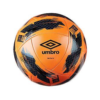 Umbro Swerve Football Orange Black Size 3
