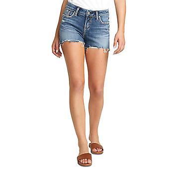 Silver Jeans Co. Womens Elyse Cutoff Denim Shorts